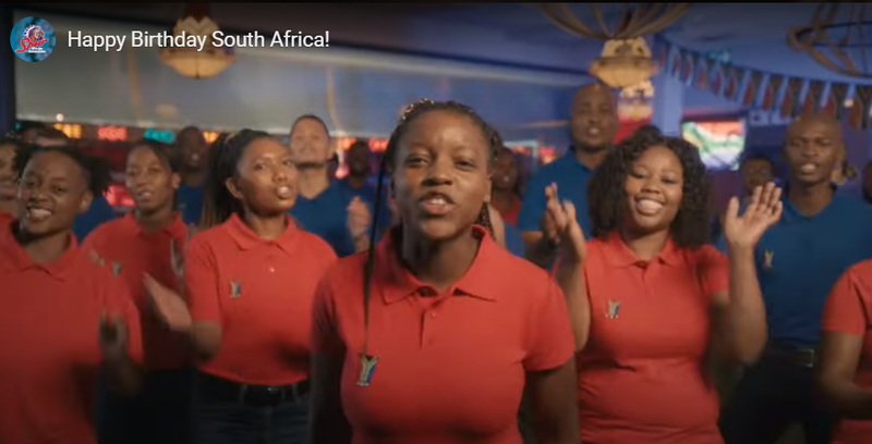 SPUR waiters share a joyful song in true #SouthAfrican spirit! #FreedomDay