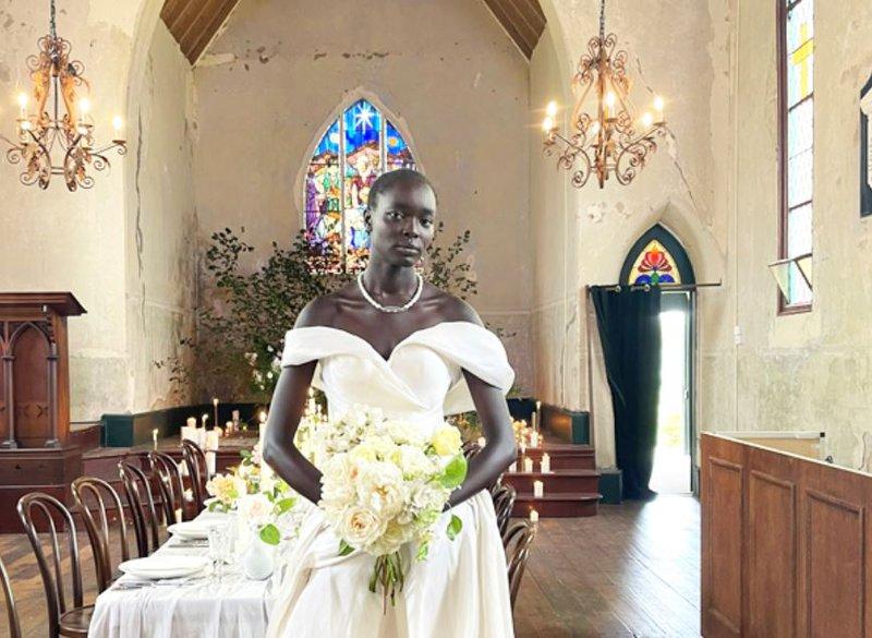 South Sudan Woman marries herself