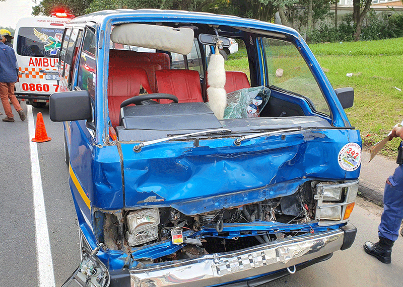 Children hurt in New Germany crash