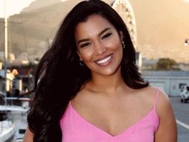Former Miss South Africa Laurel Sasha