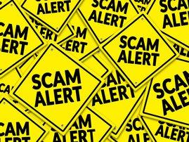 Scam alert/ iStock