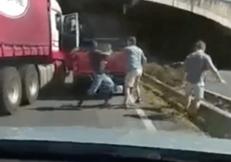 truck road rage