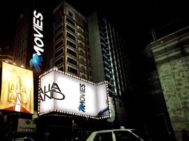 Lalla Land on M-Net Movies - lights on building