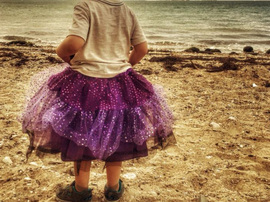 A mom took to Facebook to defend her three-year-old child who wants to wear tutus.
