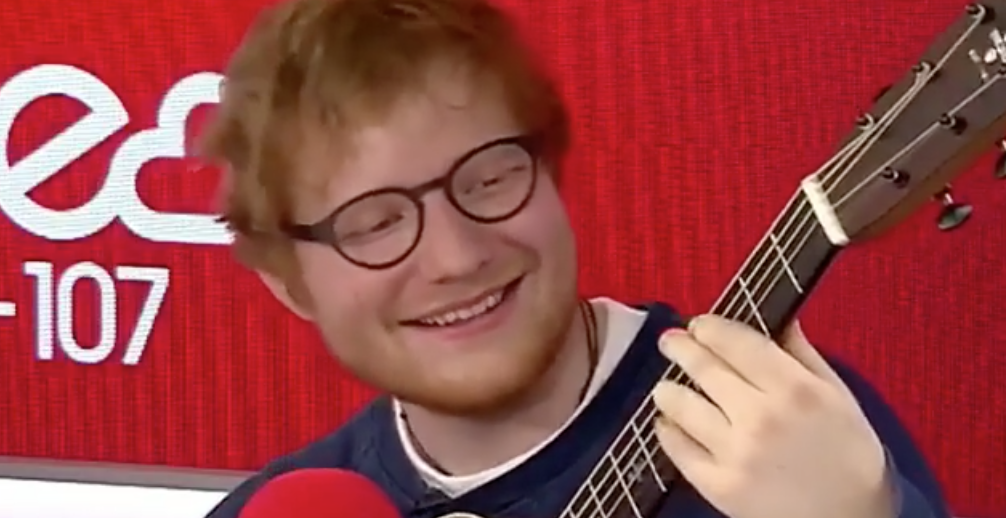 ed sheeran ginger spice