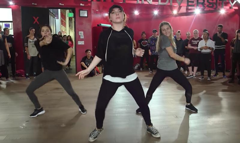 ed sheeran dance routine
