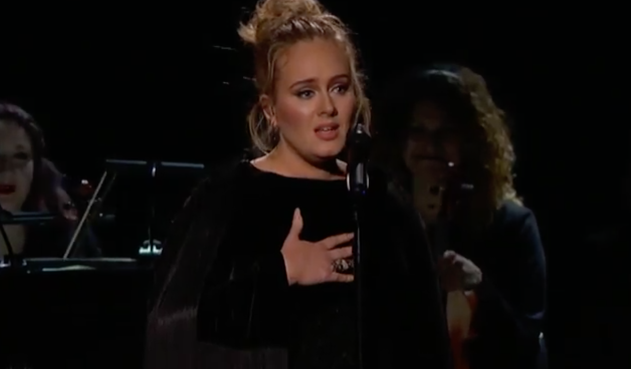 adele grammy performance