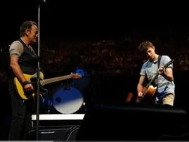 Bruce Springsteen performs in Australia