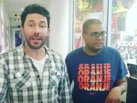Martin and Echbert react to snake