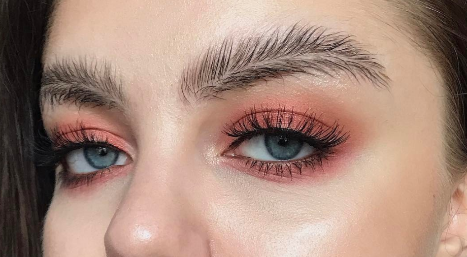 Feather Eyebrows Are The Internets Latest Beauty Trend