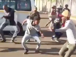 epic south african dance off