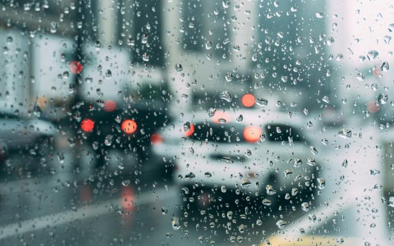 bad weather raining