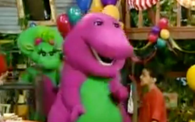 Barney music lyrics