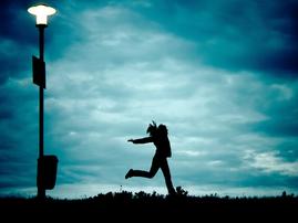 running away pixabay