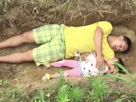 dad digs grave for ill daughter