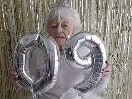 Granny turns 90