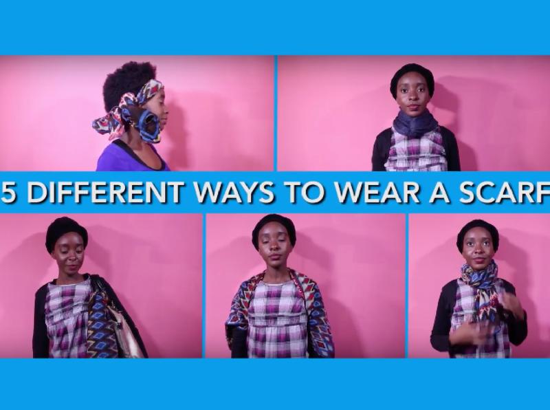 b58901f46 Five stylish ways to tie a scarf