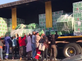 Heineken looting