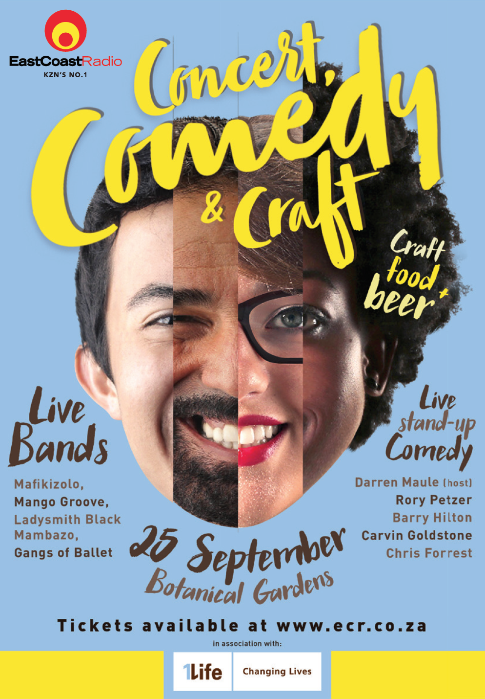 Concert Comedy Craft Breakfast list