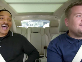james corden and will smith