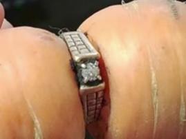 carrot engagement ring