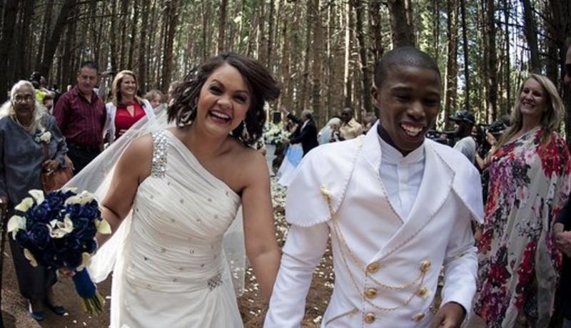 Thabiso's wedding