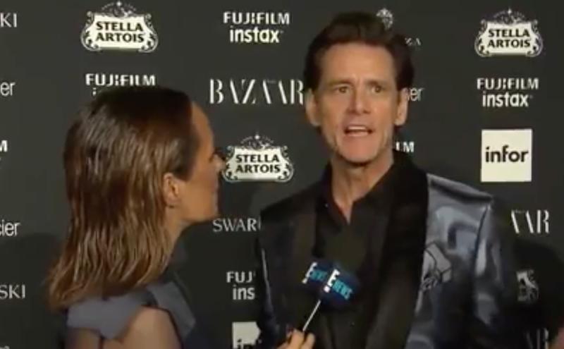 jim carey weird interview