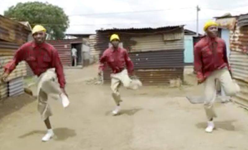 pantsula dancing