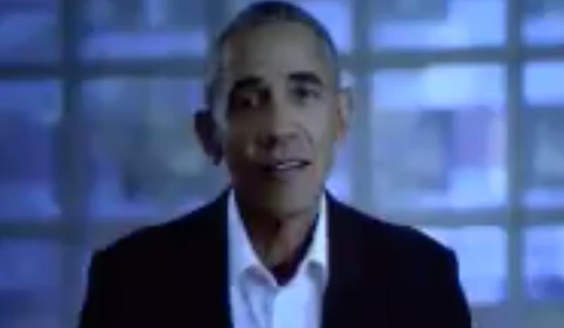 Barack Obama sweet video