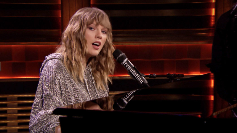 Taylor Swift brought Jimmy Fallon to tears with her performance