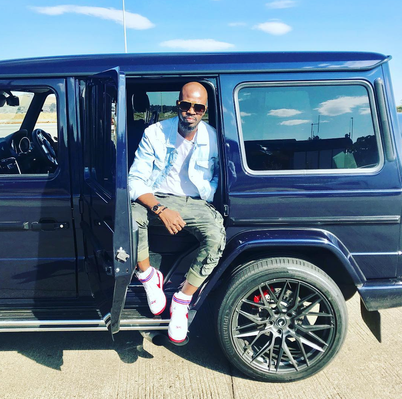 Black Coffee surprises his mom with a new Mercedes SUV
