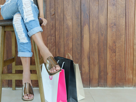 woman shopping pexels