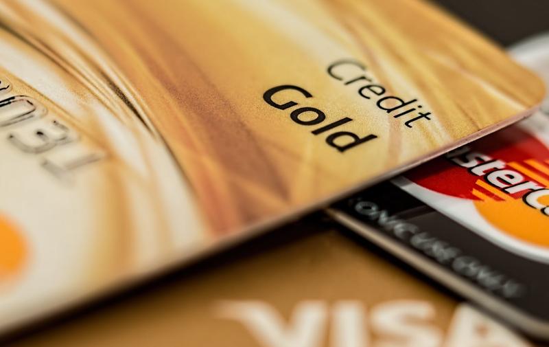 credit cards bank accounts
