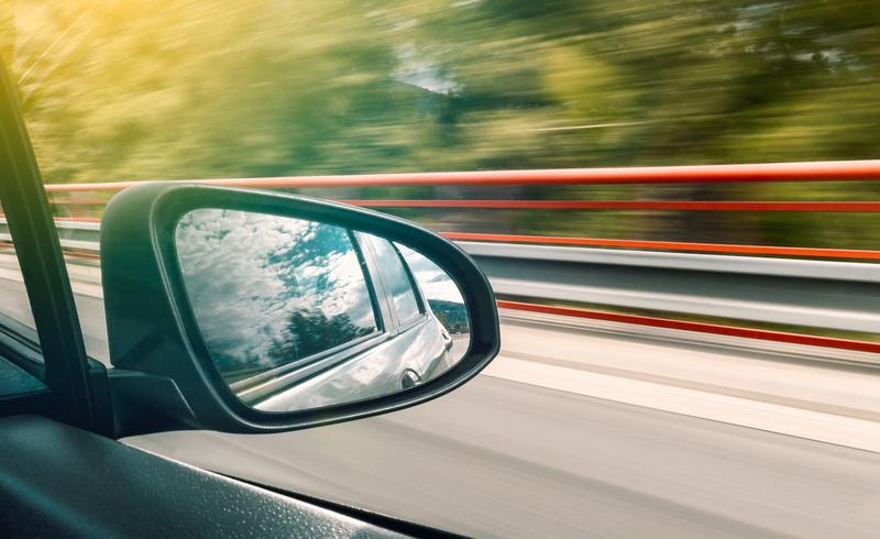 car side mirror pexels