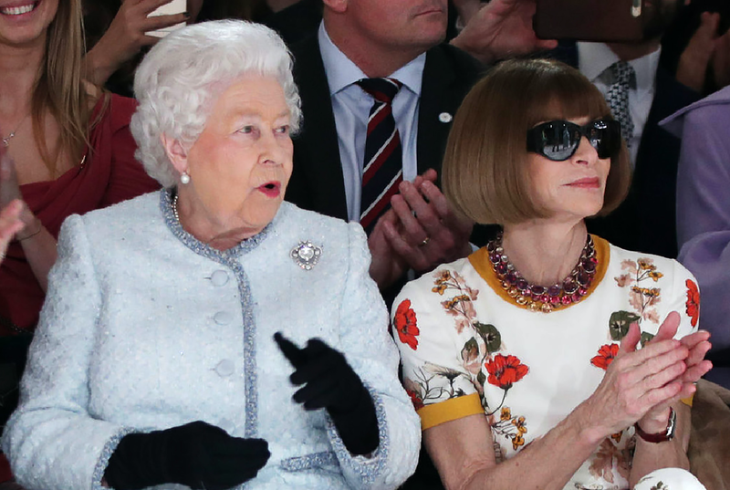 The Queen of England Made an Appearance at London Fashion Week — Surprise