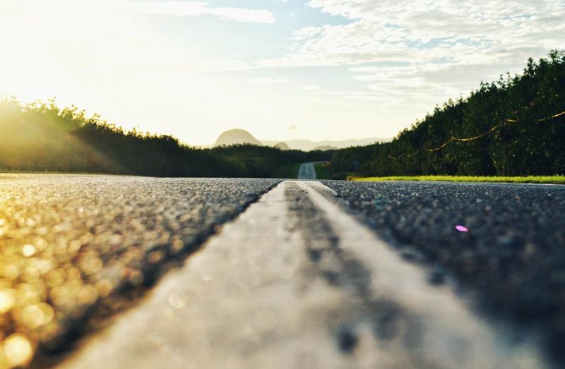 long road highway pexels