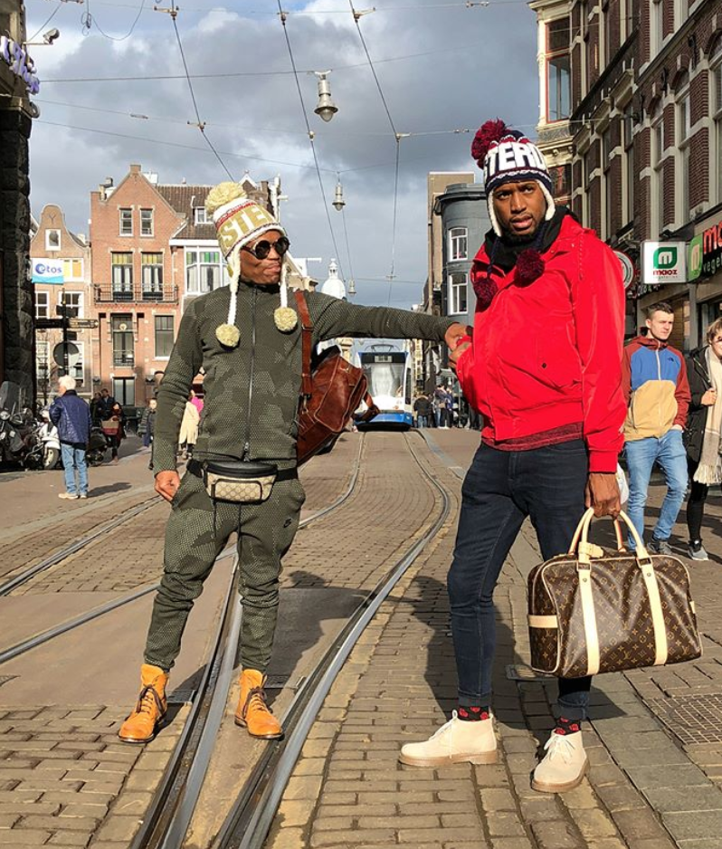 somizi ignores homophobic comments
