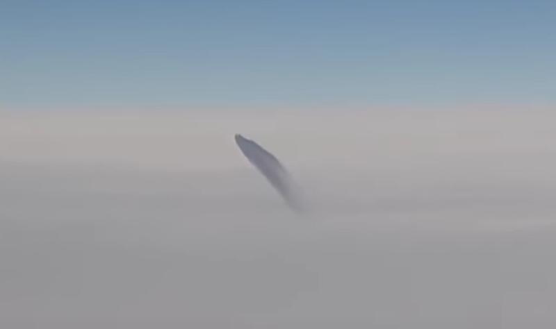ufo sighting passenger