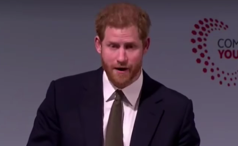 prince harry gushes commonwealth