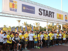 big walk 2018 start line
