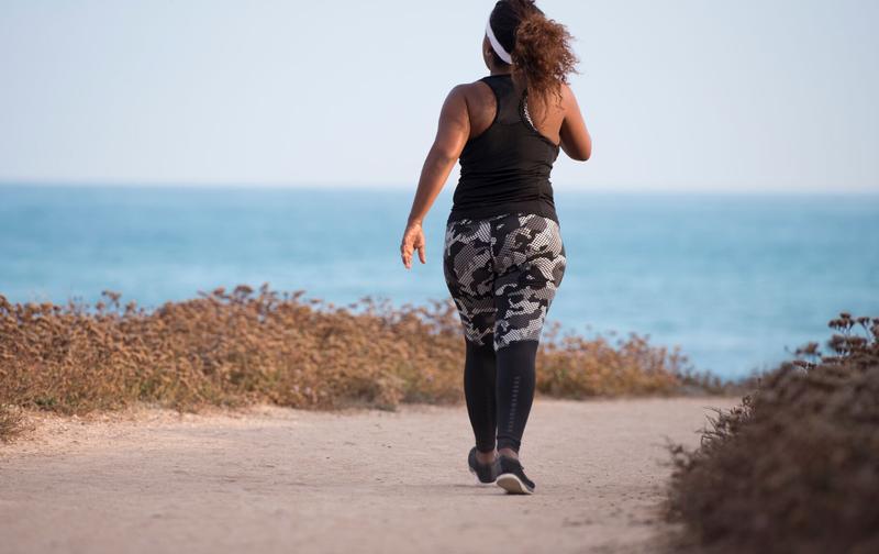 walking obesity istock