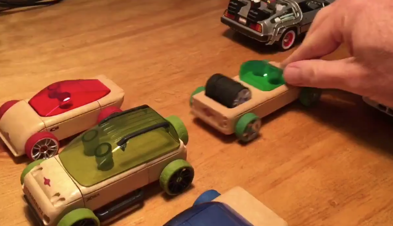 Husband creates hilarious reenactment video of wife\'s car accident