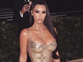 kim kardashian gold dress facebook