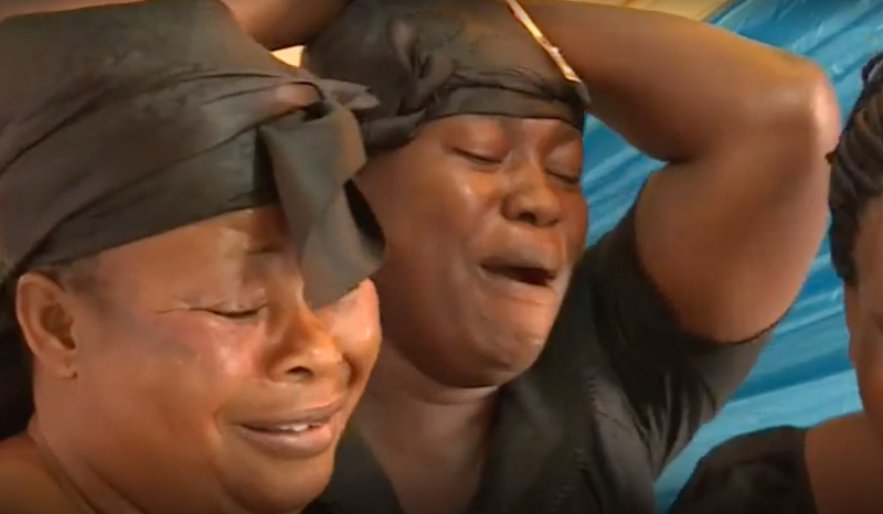 crying at funerals ghana