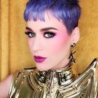 katy perry purple hair instagram pic