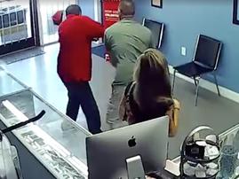 Man punches stranger for girlfriend