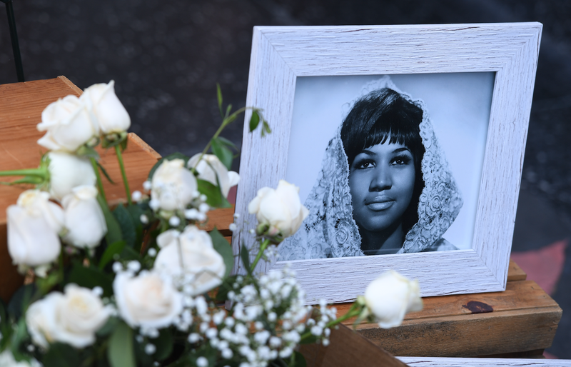 Mark RALSTON / AFP aretha franklin
