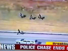 Police chase Breakfast