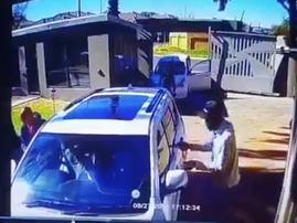 Driver rams into hijacker's car