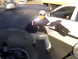 brave man rescues bag youtube